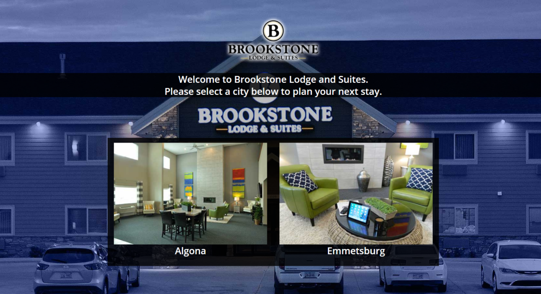 Brookstone Landing page