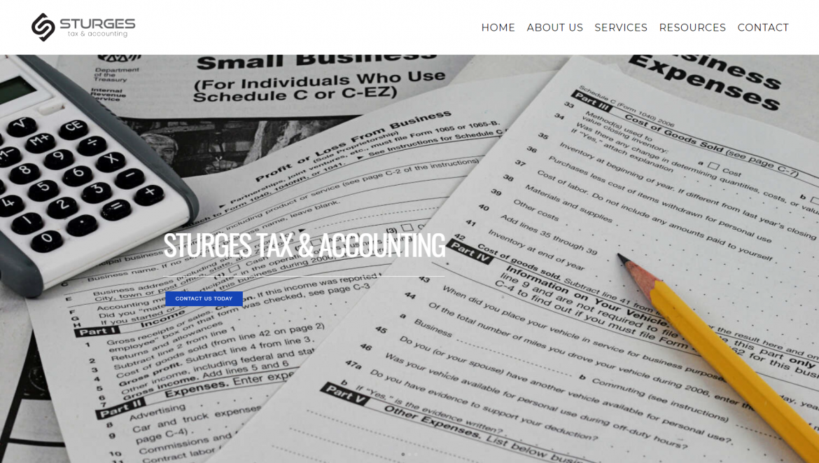 Sturges Tax Accounting